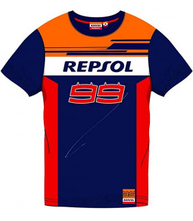 T-shirt Repsol Dual JL99 Officiel MotoGP - Big 99 Jorge Lorenzo
