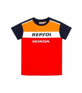 T-shirt RepsoL Honda Officiel MotoGP - Enfant