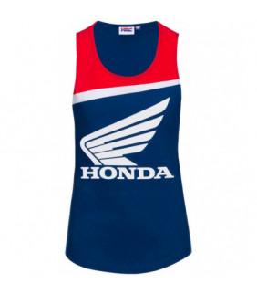 T-shirt Officiel Honda HRC MotoGP - Femme
