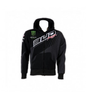 Sweat a Capuche BUD RACING TEAM Monster Energy Homme