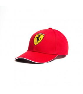 Casquette Baseball Ferrari Scuderia F1 Team Classic Rouge