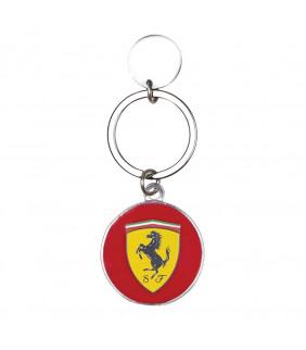 Porte-clés Rond en métal Scuderia Ferrari Formula 1
