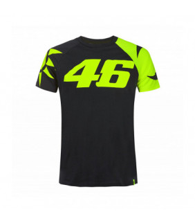 Tee-Shirt VR46 Valentino Rossi Soleil Lune