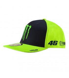 Casquette MID VISOR sponsor Valentino Rossi VR46 Yamaha Monster Energy