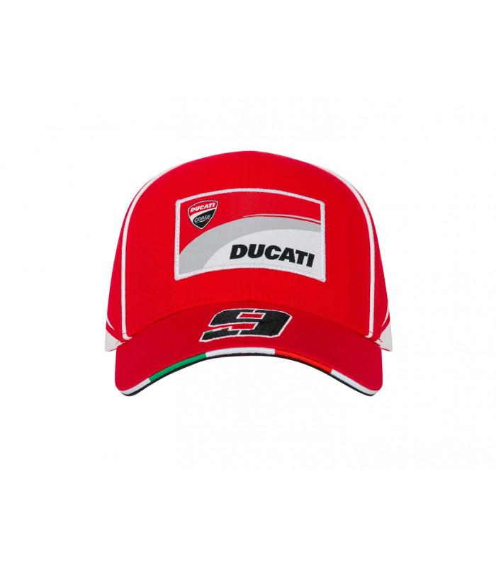 Casquette Ducati Corse Dual Moto GP Danilo Petrucci Rouge