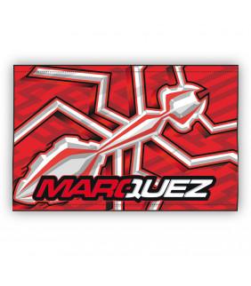 Drapeau Marc Marquez MM93 Moto GP Fourmi