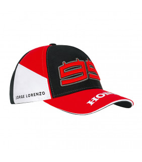Casquette Honda Dual HRC Moto GP Jorge Lorenzo 99 Baseball