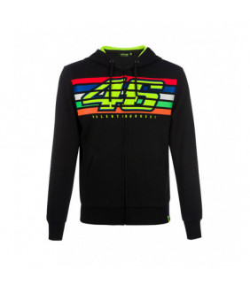 Sweat VR46 Valentino Rossi stripes