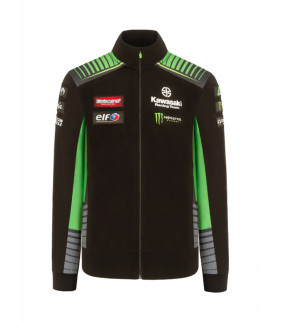 Sweat Zip Kawasaki SBK Racing Team Officiel Homme