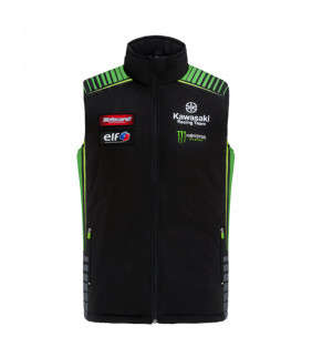 Veste sans manche Kawasaki SBK Racing Team Officiel Homme