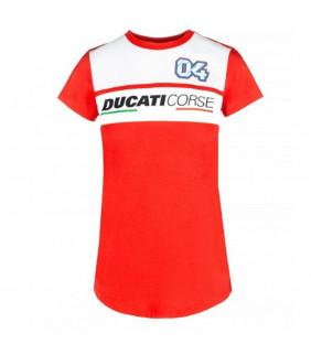 Tshirt Ducati Corse Femme Dual Andre Dovizioso 04