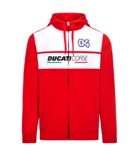 Sweat a Capuche Ducati Corse Dual Homme Andre Dovizioso 04 Moto GP