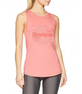 Tshirt Femme Desigual Essential 3035 rose