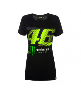 Tee shirt Femme Monza Vr46 sponsor Monster Energy