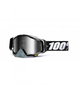 Masque Racecraft 100% - Abyss Black //  écran teinté