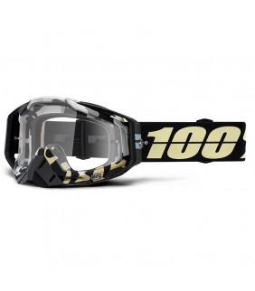 Masque Racecraft 100% - Ergoflash // écran clair