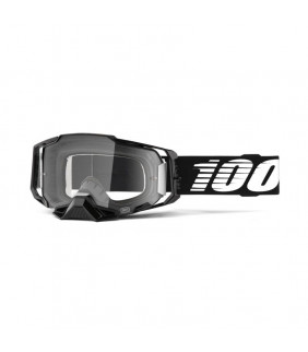 Masque Armega 100% - Black // écran clair