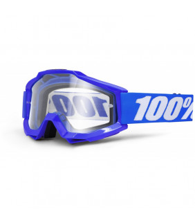 Masque Accuri 100% - Blue Reflex //  écran clair