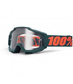 Masque Accuri 100% - Gunmetal //  écran clair