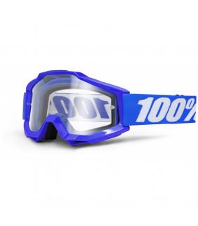Masque Accuri OTG 100% - Reflex blue //  écran clair