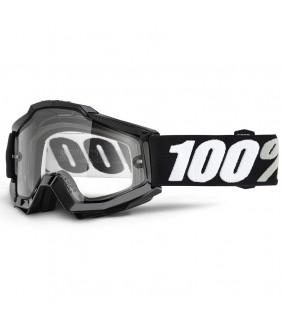 Masque Accuri Enduro 100% - Tornado //  écran dual clair