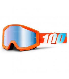 Masque Strata 100% - Orange //  écran teinté
