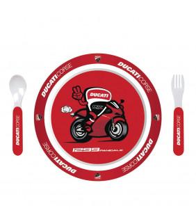 Set de couvert Enfant Ducati Corse Officiel MotoGP