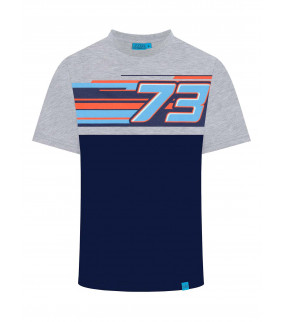 T-shirt Alex Marquez 73 homme Officiel Moto GP AM73