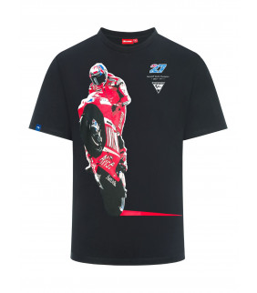 T-shirt  homme Casey Stoner Ducati Photo MotoGP