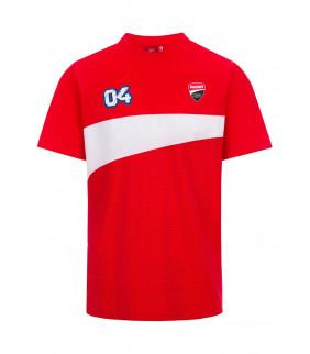 T-shirt homme Ducati Corse Dual Andrea Dovizioso 04 Moto GP