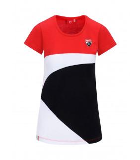 T-shirt Femme Ducati Corse Racing Officiel MotoGP