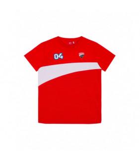 T-shirt Enfant Ducati Corse Dual Moto GP Andrea Dovizioso 04