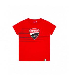 T-shirt Enfant Ducati Corse Logo Stripe Officiel MotoGP