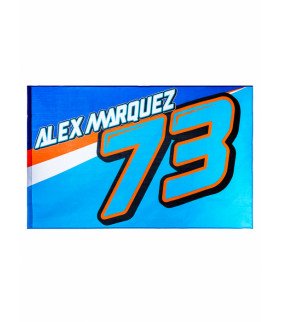 Drapeau Alex Marquez 73 Officiel Moto GP AM73