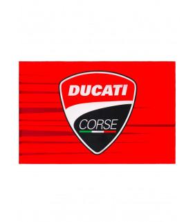 Drapeau Ducati Corse Stripe Officiel MotoGP