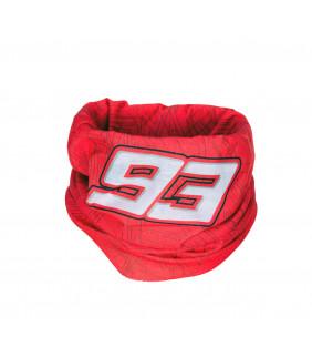 Tour de cou MM93 Officiel Marc Marquez MotoGP rouge 93