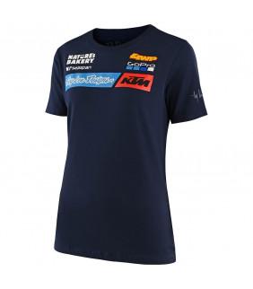 T-shirt Femme Troy Lee Designs KTM Team Officiel Moto Cross