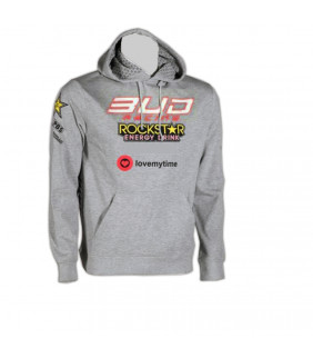 Sweat a Capuche Homme Bud Racing Stripe RockStar Energy