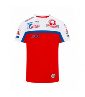 T-shirt Homme PRAMAC Racing Team Dual Francesco Bagnaia MotoGP