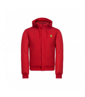 Veste à Capuche Bouton Ferrari Scuderia Officiel Team F1