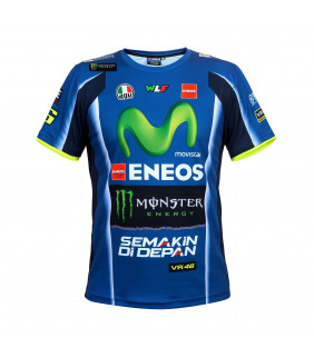 Tshirt Homme YAMAHA M1 Movistar Monster Energy VR46 Valentino Rossi MotoGP