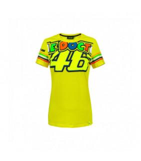 Tshirt Femme The Doctor VR46 Officiel  Valentino Rossi MotoGP