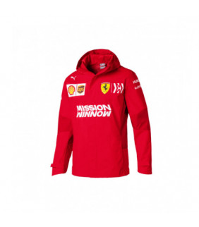 Veste Jacket Zip Puma Ferrari Scuderia Racing Team F1 Officiel
