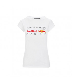 T-Shirt Femme Aston Martin Sponsor F1 Racing Formula Team Red Bull