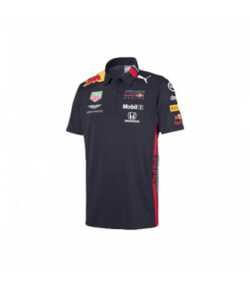 Polo Homme Aston Martin Sponsor F1 Racing Formula Team Red Bull