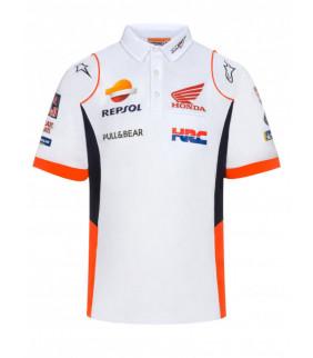 Polo Homme Honda Repsol Teamwear Replica Officiel MotoGP
