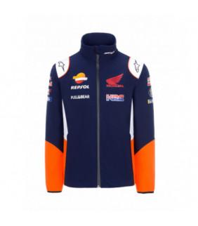 Veste Softshell Homme Honda Repsol Teamwear Replica Officiel MotoGP