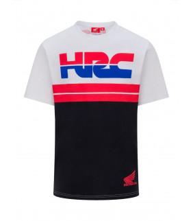 T-shirt Homme HRC Racing Team 2 Stripes Officiel MotoGP