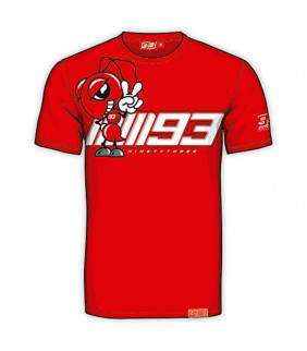 Tshirt Homme Marc Marquez Cartoon MM93 Officiel MotoGP