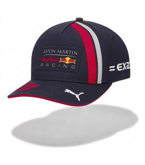 Casquette curve F1 Racing Formula Team Red Bull Replica Max Verstappen formule 1